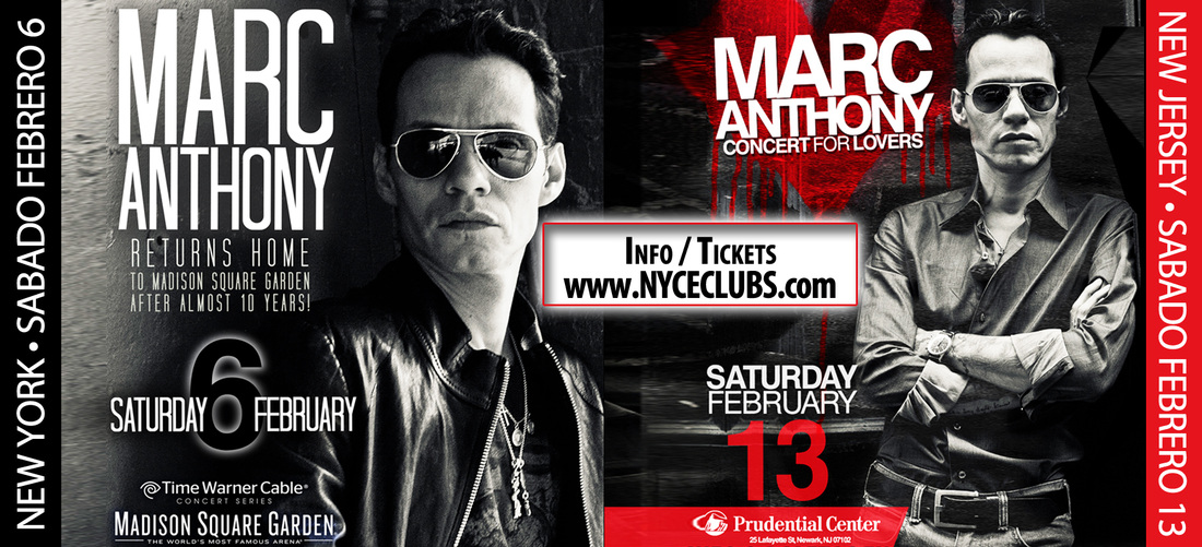 Marc Anthony Two Great Concerts In Ny And Nj